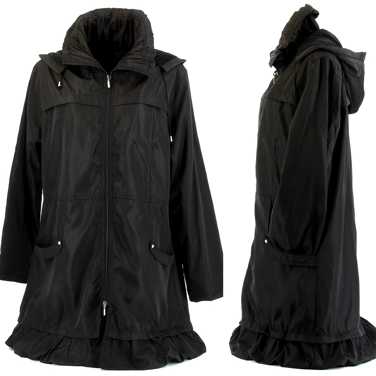 manteau long femme grande taille. Black Bedroom Furniture Sets. Home Design Ideas