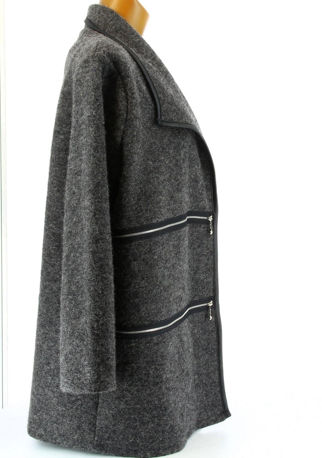 veste femme grande taille longue. Black Bedroom Furniture Sets. Home Design Ideas