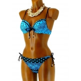 Maillot de Bain Bikini Push Up Sexy Dentelle - IBIZA -