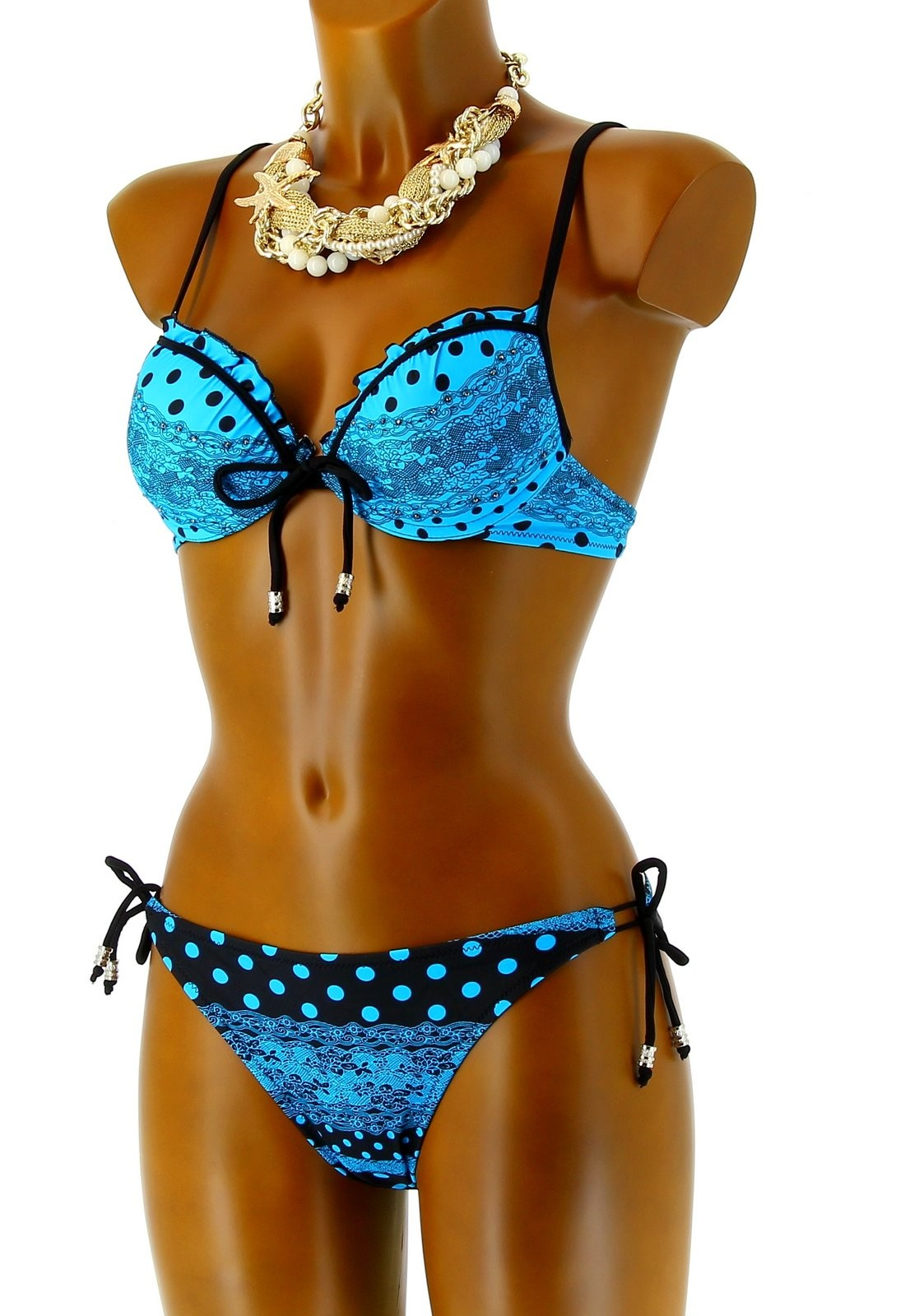 maillot de bain bikini push up sexy dentelle ibiza. Black Bedroom Furniture Sets. Home Design Ideas