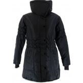 Doudoune Longue Noir  - PABLO - Parka manteau 42/54 grande taille