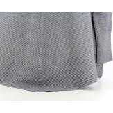 Pull Trapèze asymétrique gris MAXIME femme