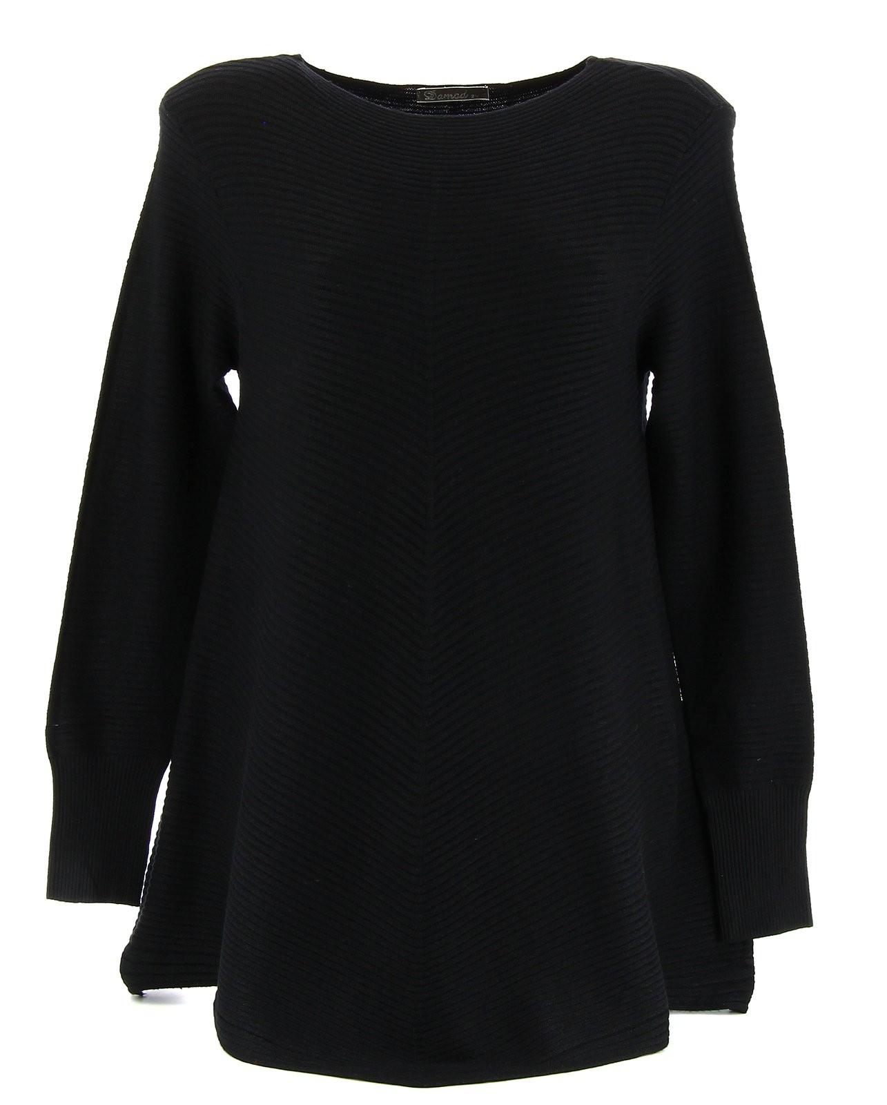 le dernier 19211 b4350 Pull noir laine femme gilet marron femme | Arts4a