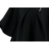 Cape Manteau Noir 36/54 - MATILDA - Zip
