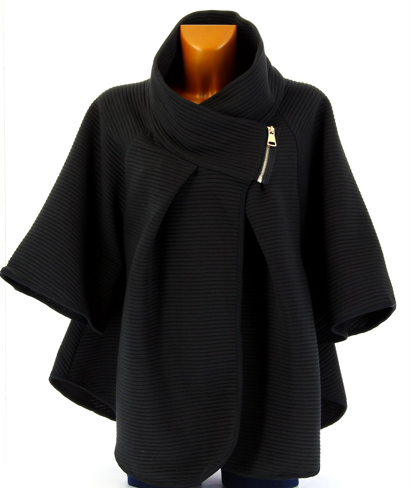 manteaux femme cape. Black Bedroom Furniture Sets. Home Design Ideas