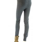 leggings laine caleçon pantalon HAROLD gris