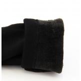Leggings slim polaire lycra 36/48 STEFANIA noir