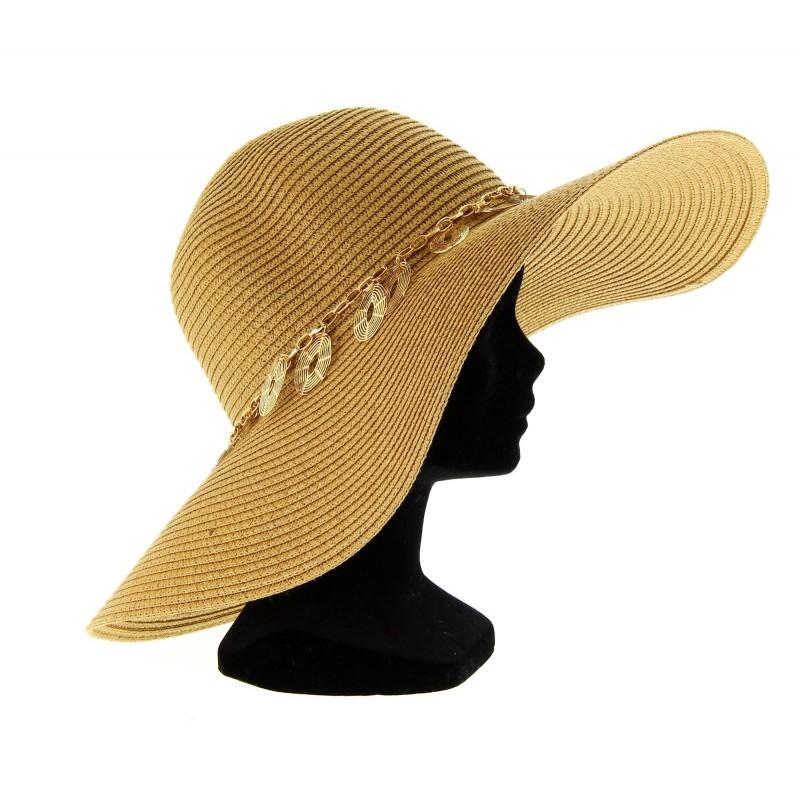 chapeau capeline femme chapeau capeline paille miguel femme ceremonie ete beige. Black Bedroom Furniture Sets. Home Design Ideas