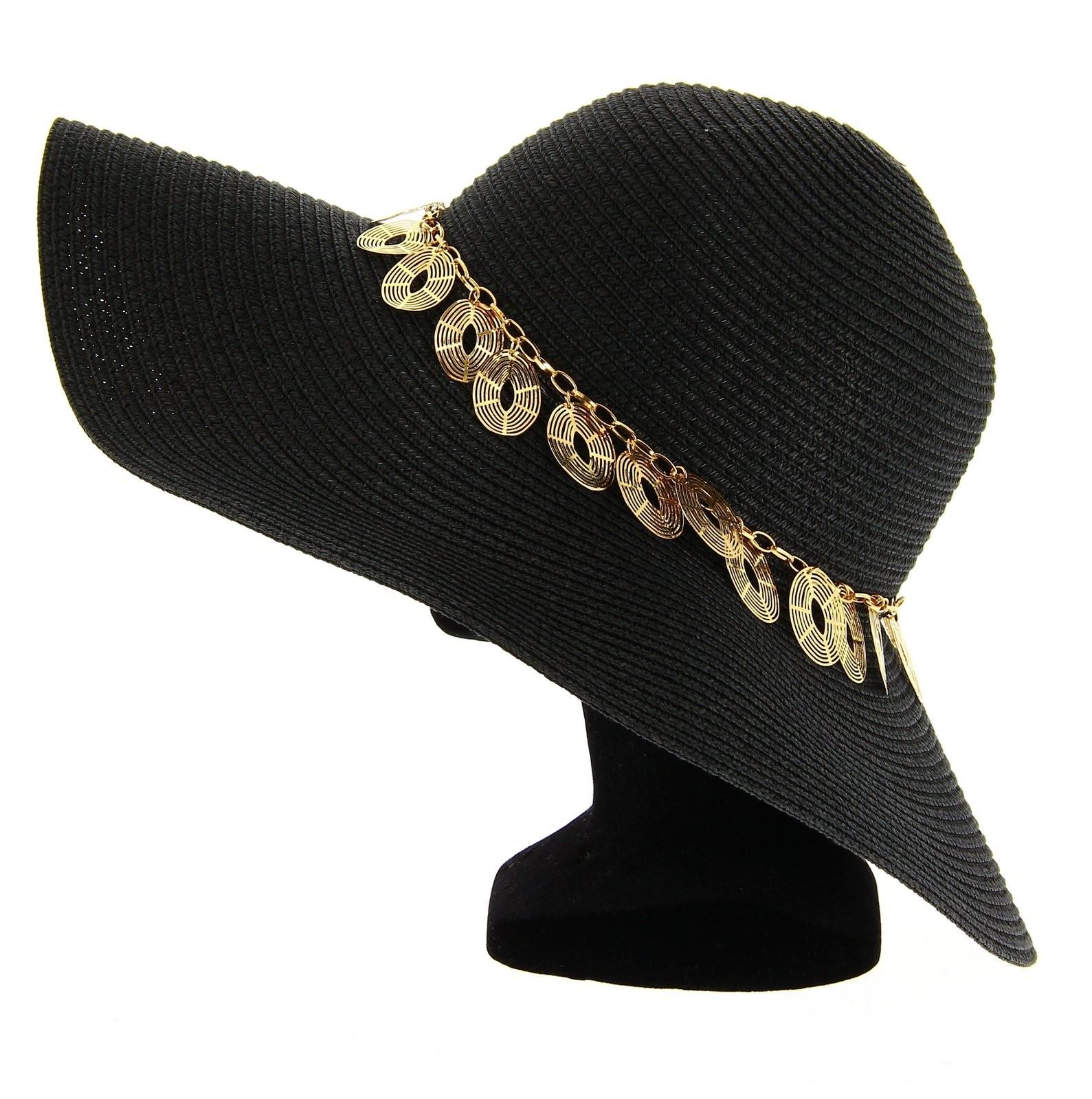 94bca480d6133 chapeau femme ete noir