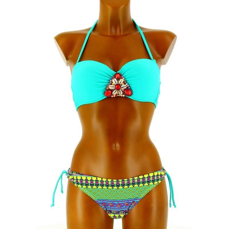 Maillot de bain et bikini vert achat en ligne