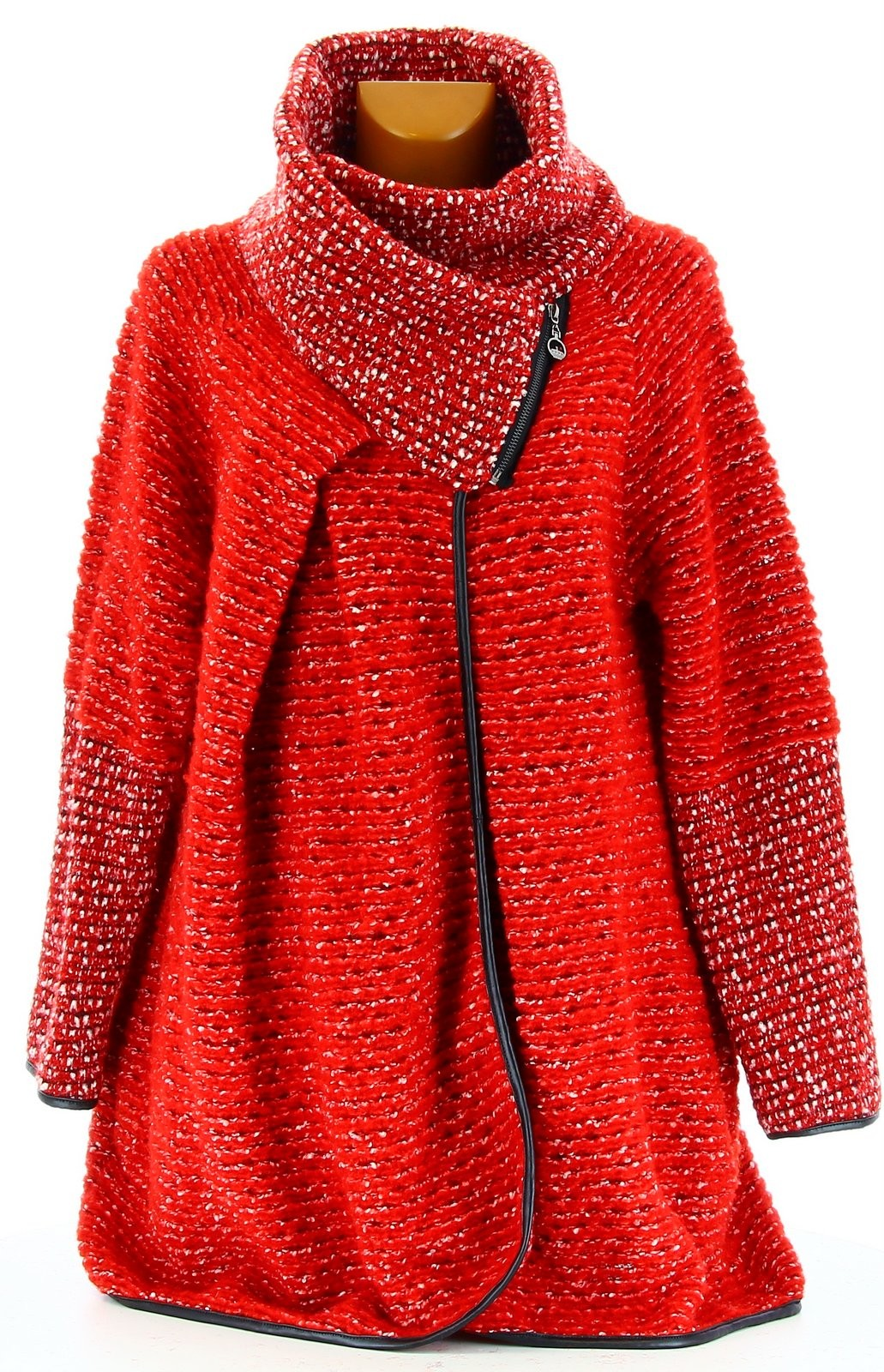 manteau cape laine bouillie hiver grande taille rouge violetta. Black Bedroom Furniture Sets. Home Design Ideas