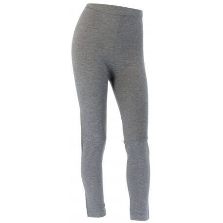 Leggings laine lycra hiver caleçon pantalon gris   LAURENT