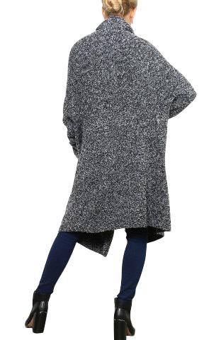 0405b72318a15 Manteau laine long gris   Espaceflirey