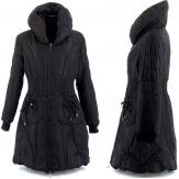 doudoune longue hiver noire AMELIE