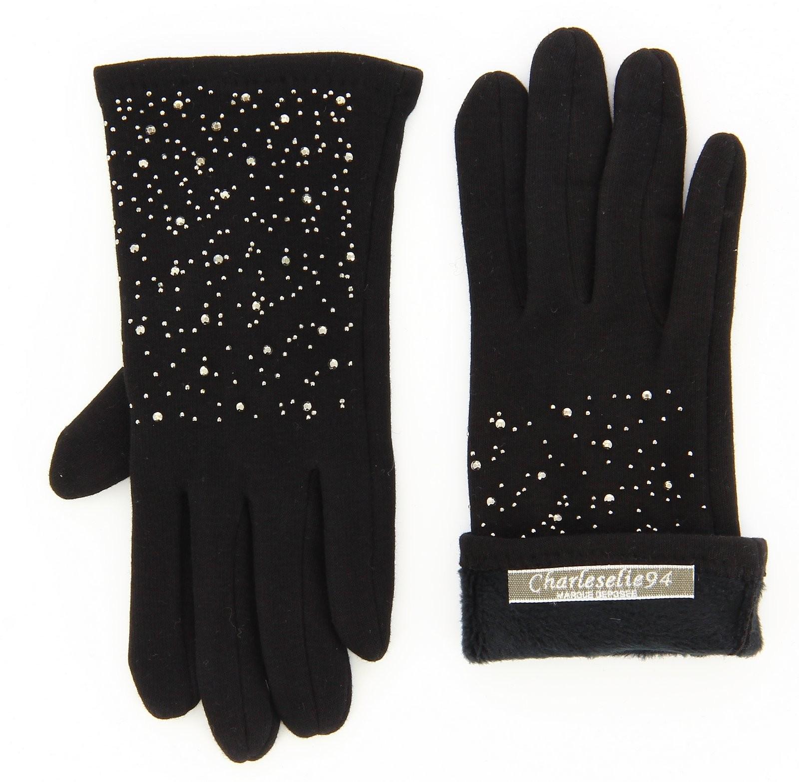 gants femme hiver polaire tactiles noir basile. Black Bedroom Furniture Sets. Home Design Ideas