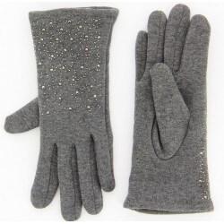Gants femme hiver polaire gris BASILE