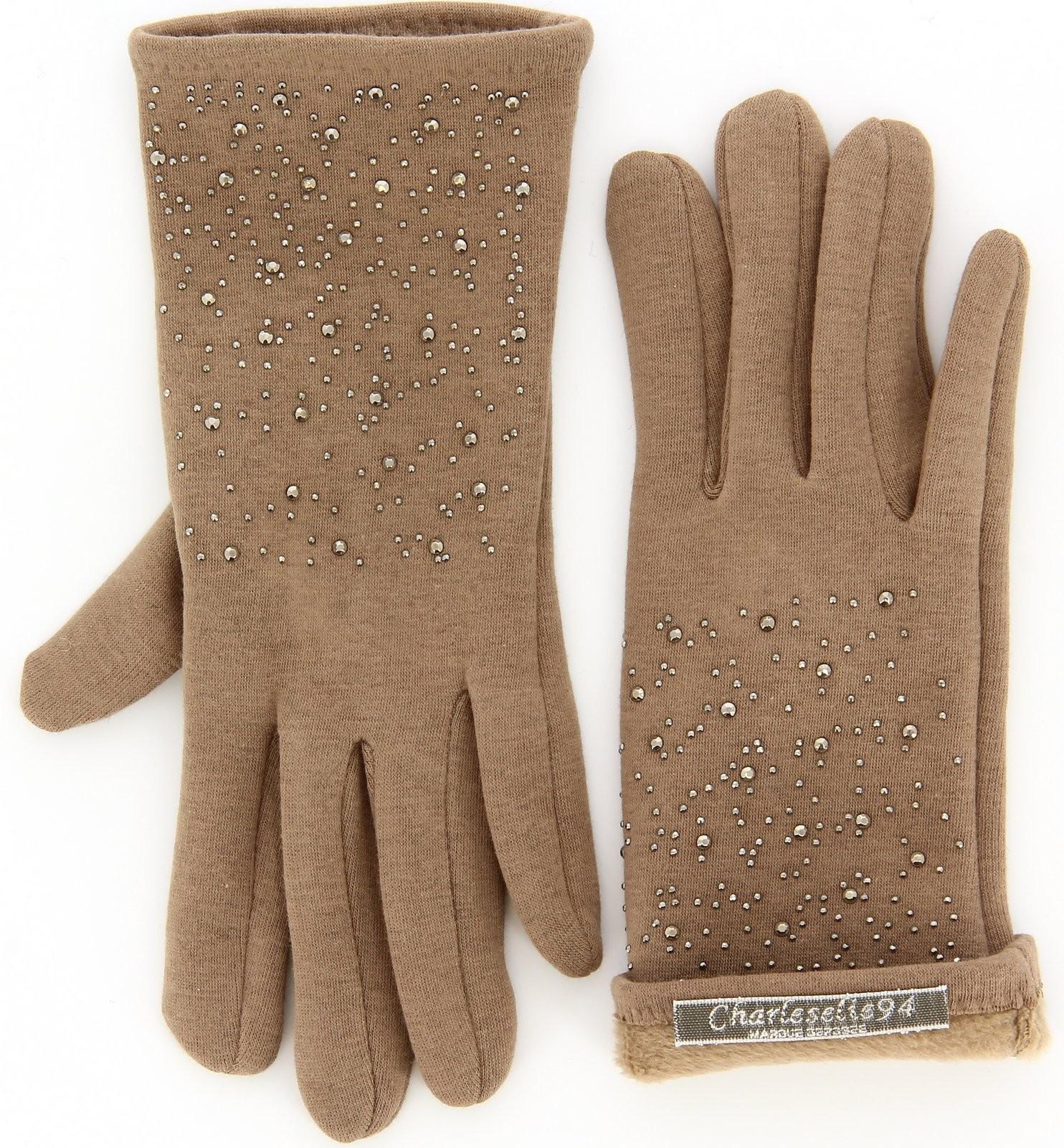 gants femme hiver polaire beige camel basile. Black Bedroom Furniture Sets. Home Design Ideas