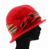 chapeau cloche rouge ACHILLE