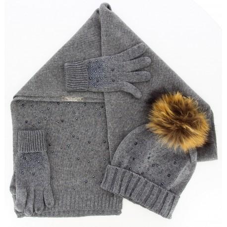 Pack écharpe bonnet gants DONALD