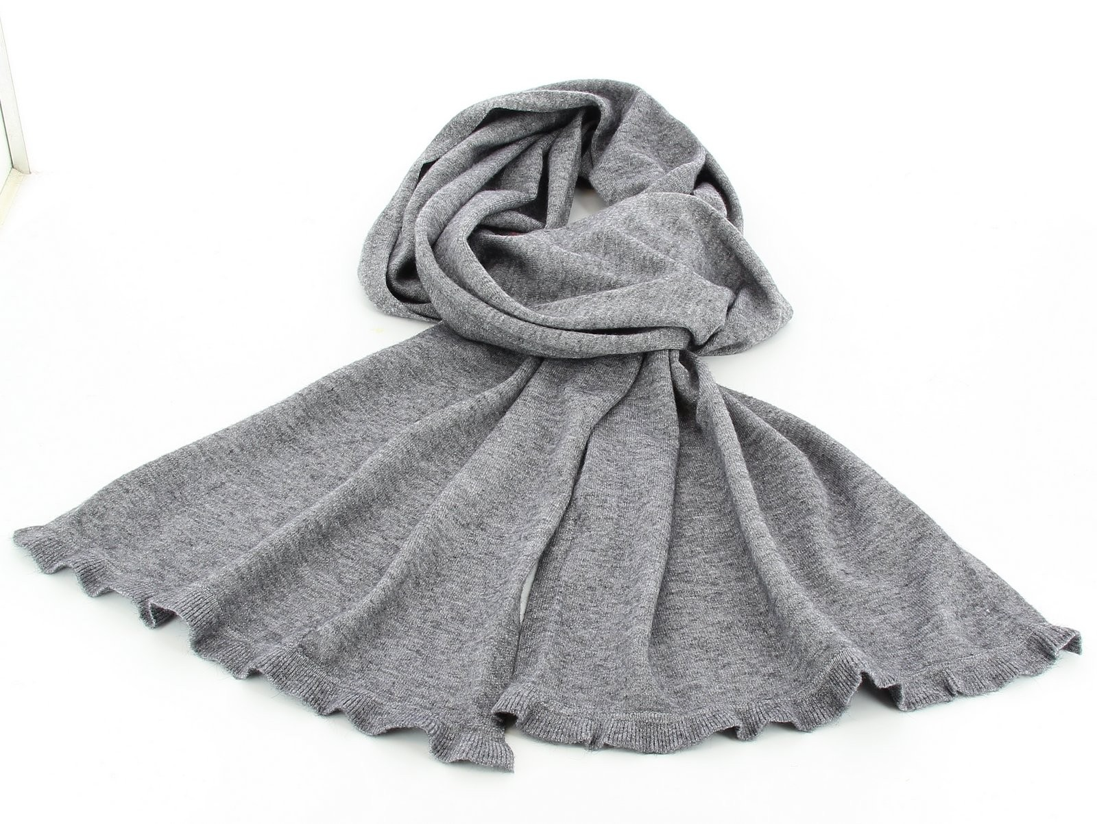 Echarpe gris laine   Espaceflirey 85d36b9562e