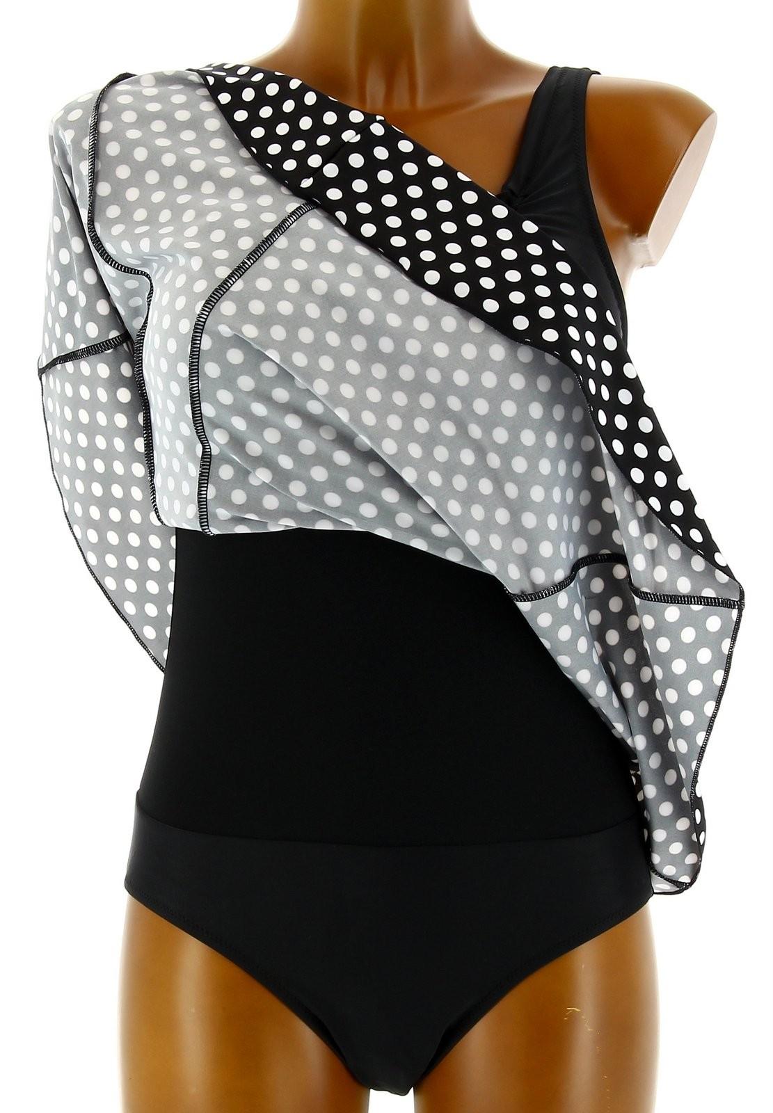maillot de bain 1 pi ce robe jupette femme lyly. Black Bedroom Furniture Sets. Home Design Ideas