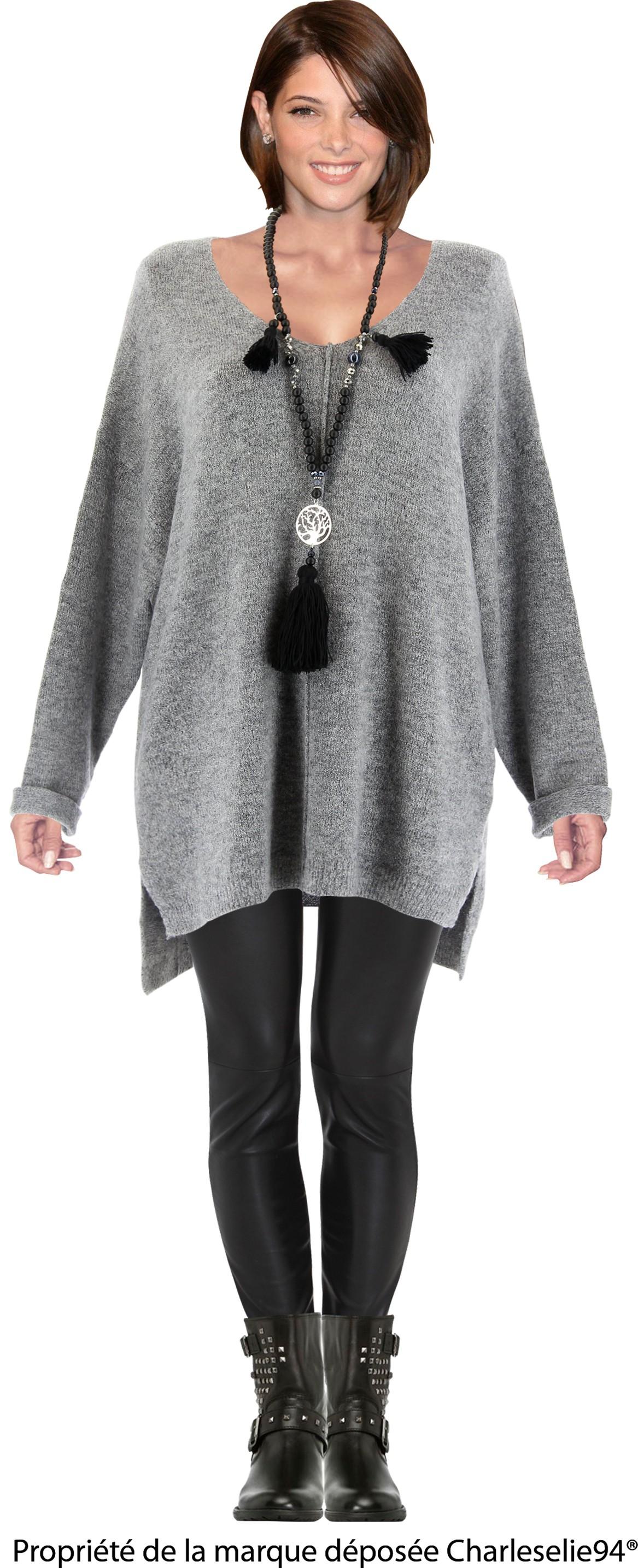 Bien-aimé femme long laine XP35