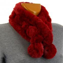Pack écharpe longue bonnet gants laine brodés gris ISABELLE 7c030367f5e