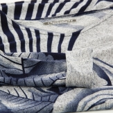 Tunique longue ample bohème bleu DELPHINE