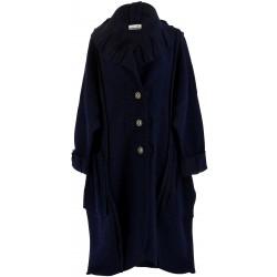 Manteau hiver femme bleu