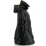 Doudoune capuche femme hiver mi longue grande taille Juliette