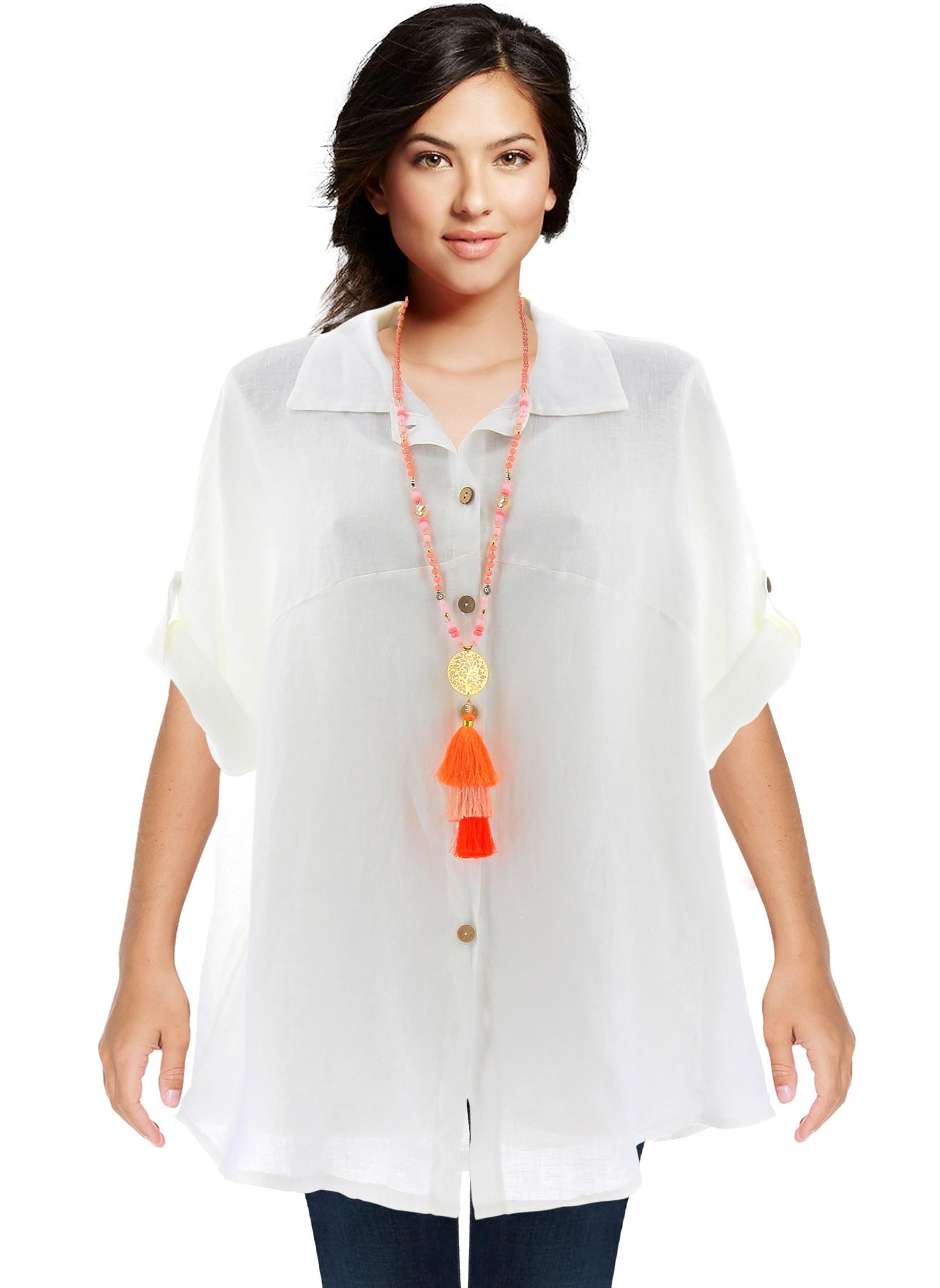 dabedb1a4269 Chemise En Lin Femme. object moved. chemise en lin femme kaki ...