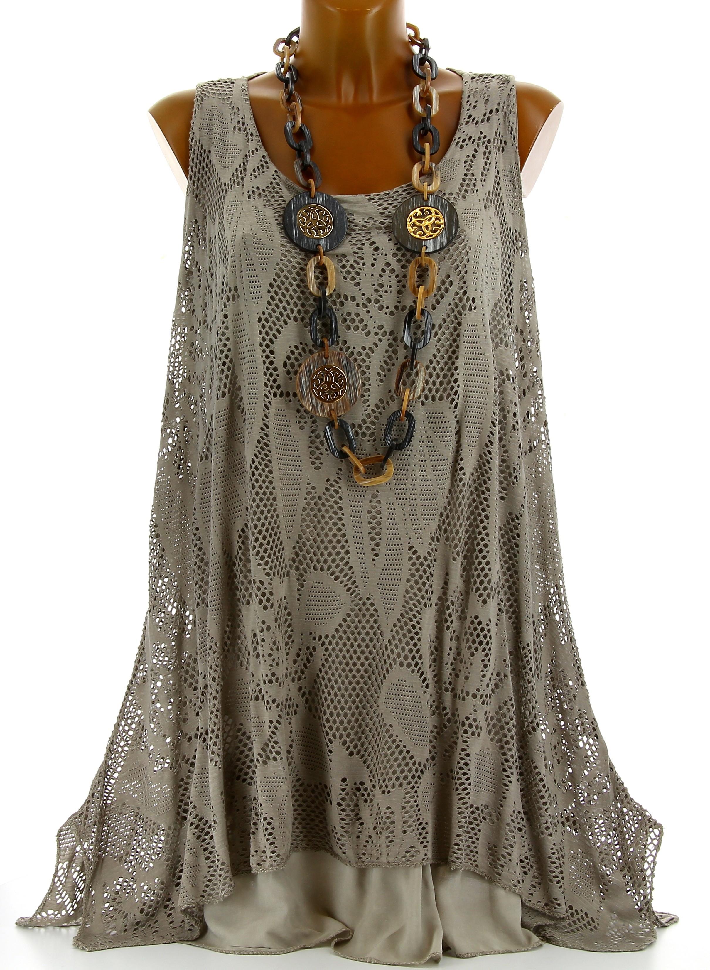 Transformer une robe longue en tunique
