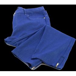 Jean pantalon femme grande taille slim stretch bleu NIKI