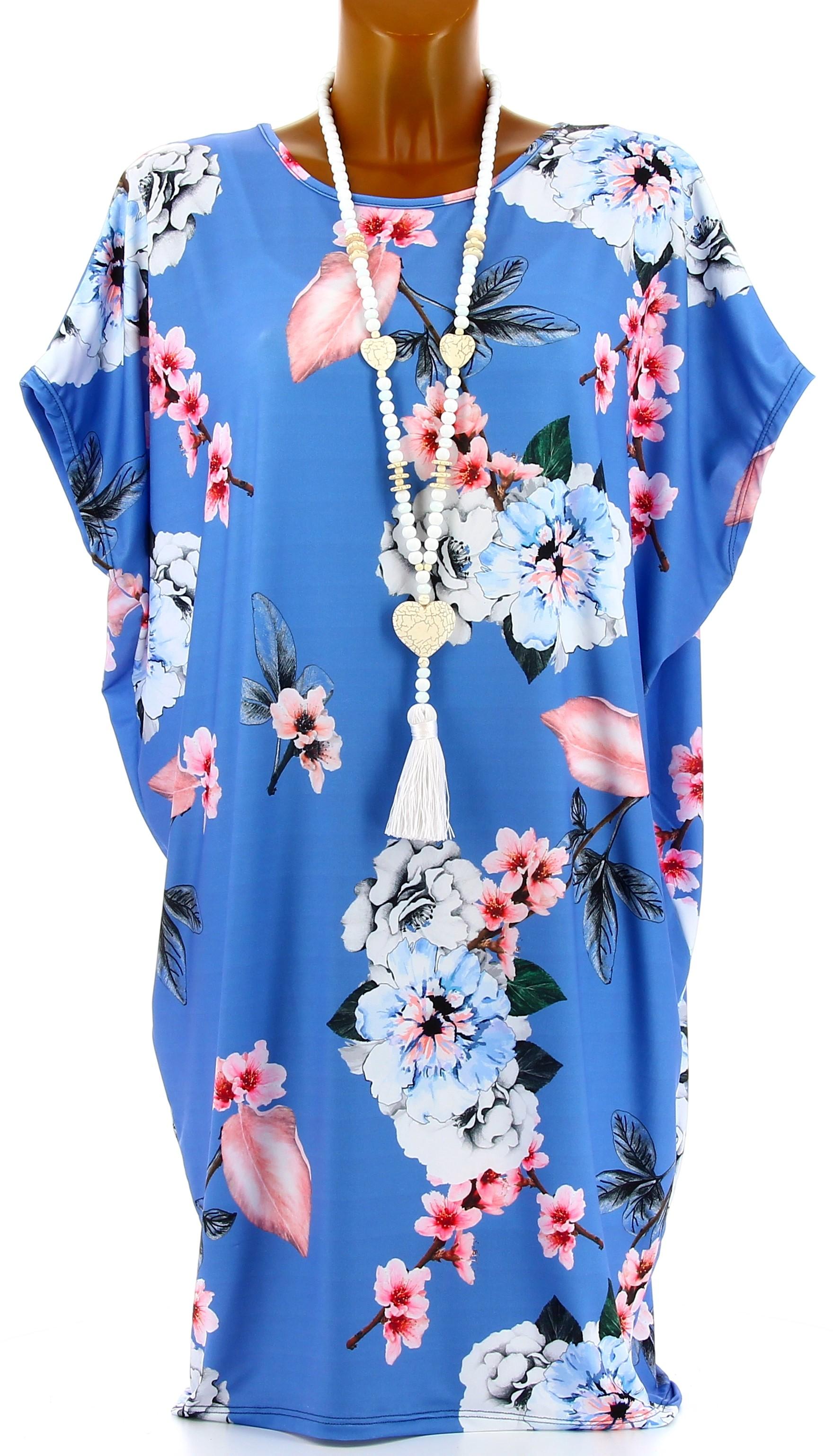 La robe bleue monica