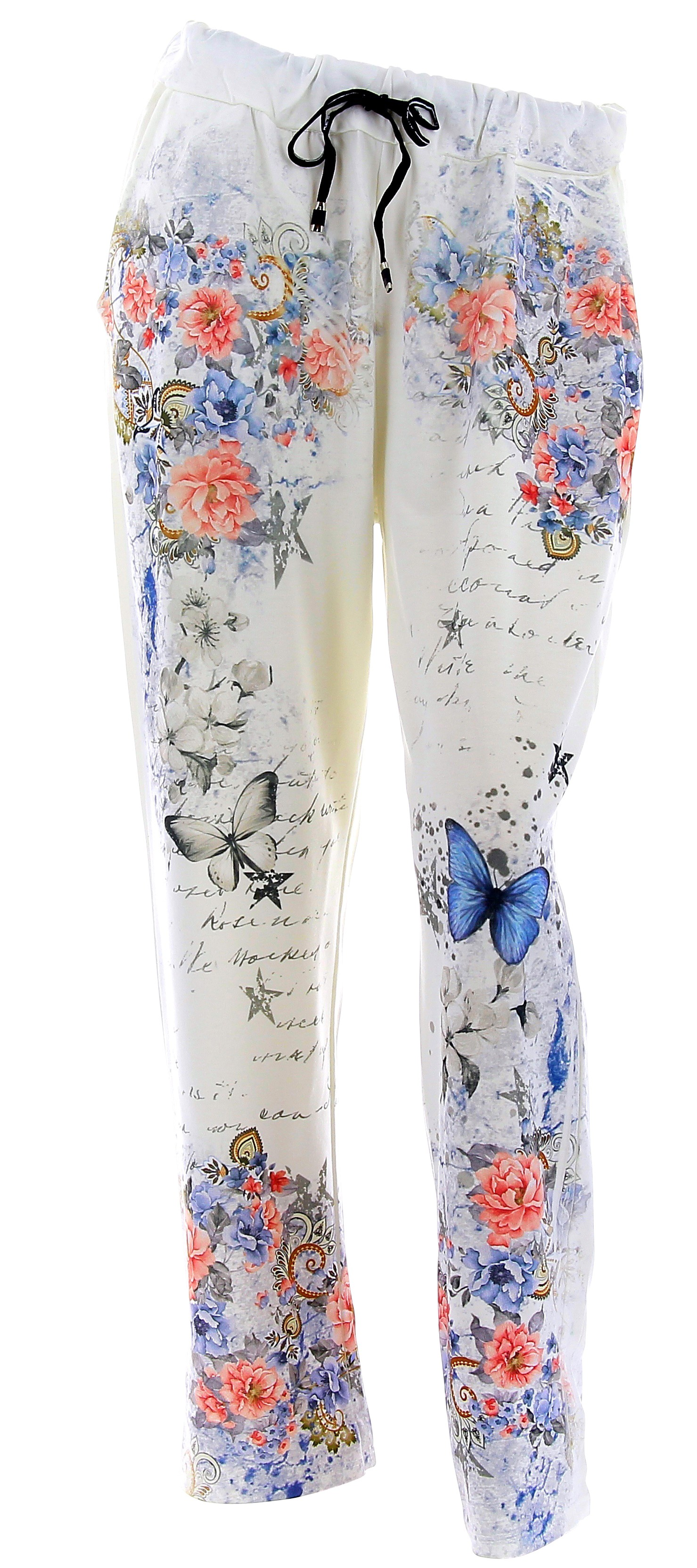 pantalon jogg femme loose taille haute blanc sabrina. Black Bedroom Furniture Sets. Home Design Ideas