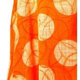 Tunique grande taille bohème été longue orange ALBERTA