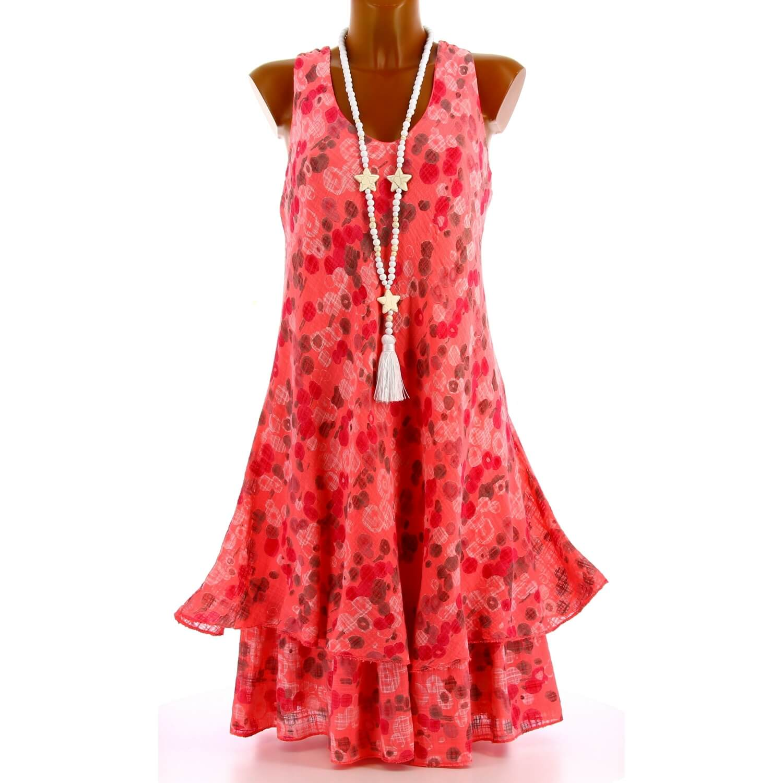 Bohème Robe Été Grande Rose Mirabelle Taille fg7v6Yby