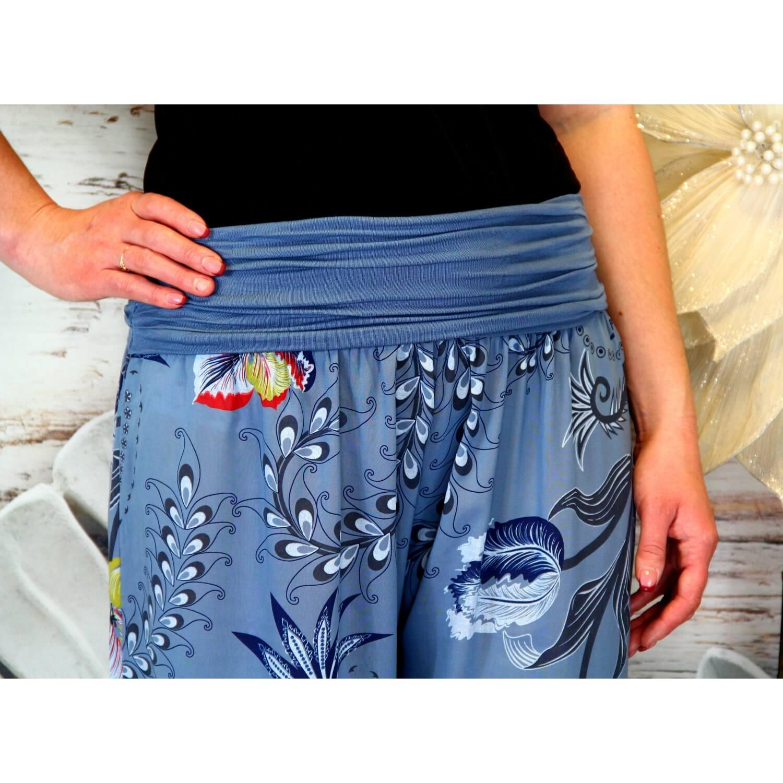 Été Bleu Bohème Pantalon Femme Fluide Bouffant Jean Florane m8nwNy0OvP