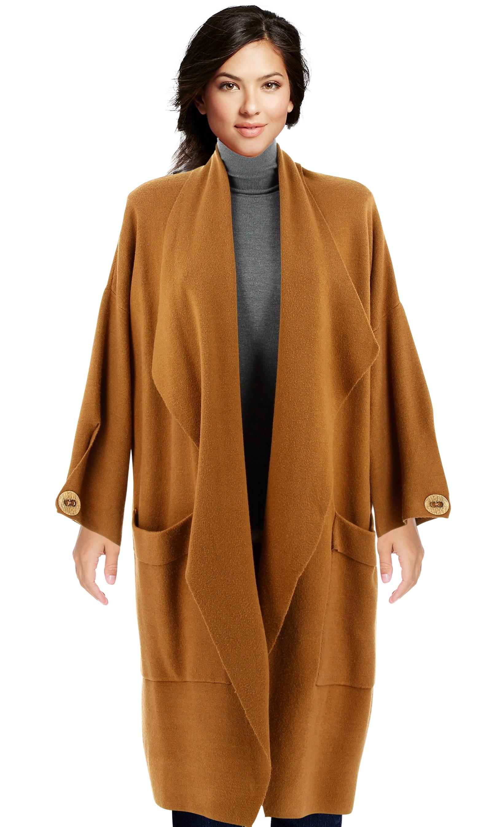 manteau femme grande taille hiver camel luigi. Black Bedroom Furniture Sets. Home Design Ideas