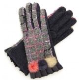 Gants femme hiver tactiles polaire chic G17 Gris-Gants femme-CHARLESELIE94