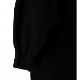 Pull femme hiver ample hiboux noir ELVIRE