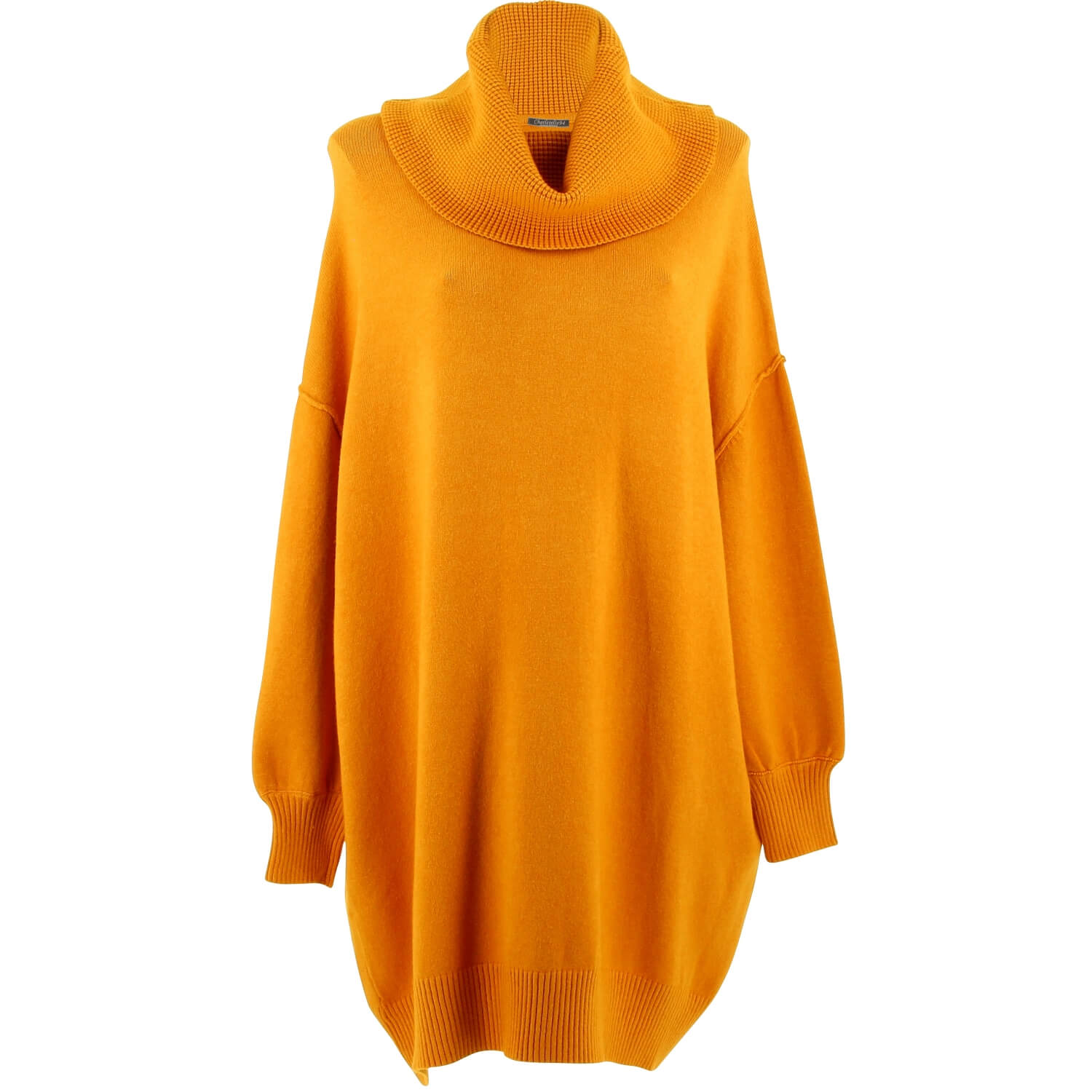 Taille Moutarde Femme Pull Oversize Jenny Grande Long 9ID2EH