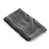 Bonnet bandeau femme laine polaire strass gris CYNDI