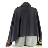 Écharpe étole femme cachemire laine xxl EIFFEL