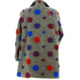 Manteau femme grande taille laine gris COCCINELLE