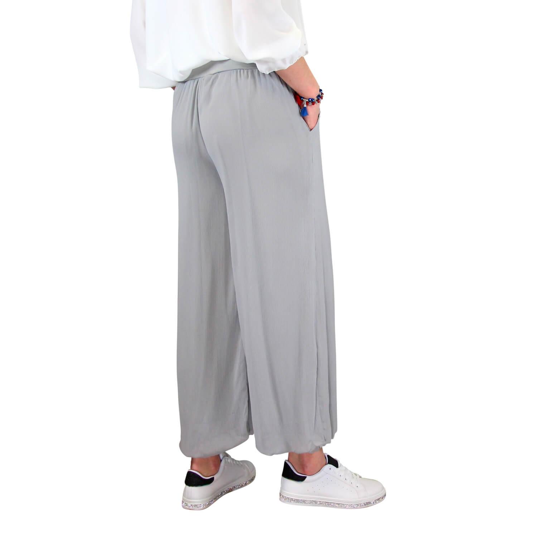 Taille Gris Fluide Pantalon Grande Delta 2EDH9IW