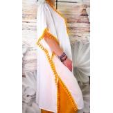 Robe tunique grande taille rebrodée été VALRAS