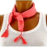 Headband foulard pompons bohème HB3
