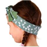 Headband femme foulard pompons bohème HB6 Accessoires cheveux