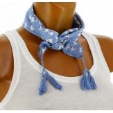 Headband foulard pompons bohème HB7